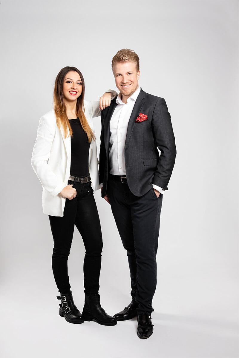 Nelli Hildmann und Sven Mersch
